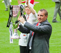 แบรนแดน ร็อดเจอร์ส ผู้จัดการฟุตบอลทีมหงส์แดง